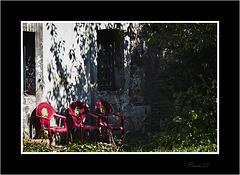 Tronos de tres Reyes Majos