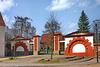 Güstrow,  Tor zur Barlachgedenkstätte
