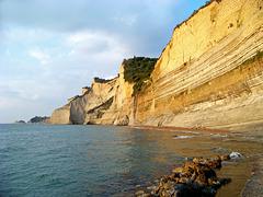Sunset Beach at Peroulades, Corfu