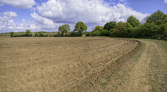 Ploughed to curve - an agricultural view