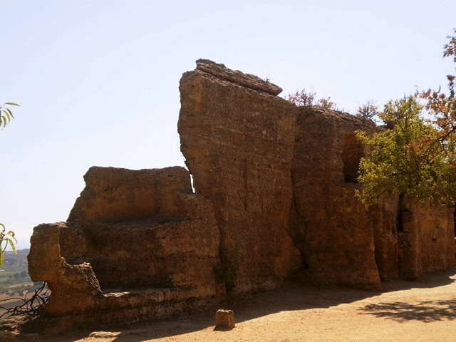 Ruins of Temple of Asclepius.