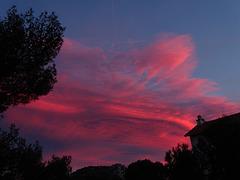 ...Quand le ciel s'embrase...