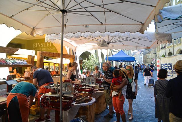 Markt in Bern Schweiz