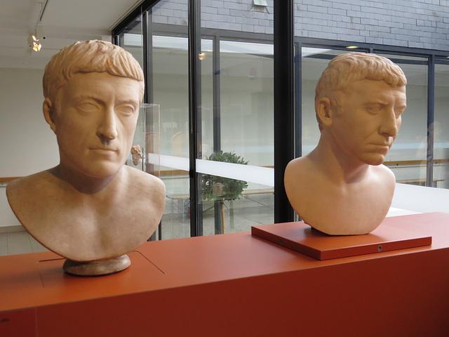 Musée de Jublains : portraits de Corbulon ?