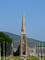 Chapel of Saint John (Tynwald Church) from Tynwald Hill