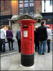 High Street pillar box