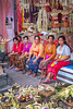Balinese women join the wedding party