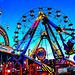 Bridlington promenade fun fair