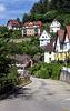 In Triberg stehen die Häuser nicht nebeneinander ...