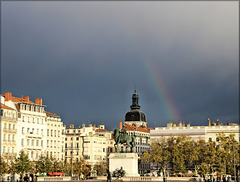 Lyon (69) 13 novembre 2017. Place Bellecour.