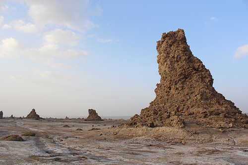 Rock Formation, Lac Abbé