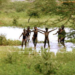 Senegal, the bath