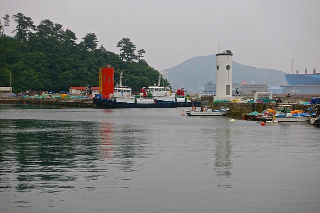 Okpo fishing harbour