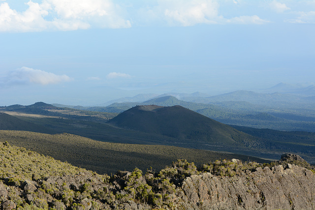 Kilimanjaro, View from Horombo Huts to the East