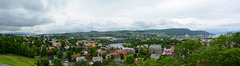 Norway, Panorama of Trondheim from the Hill of the Kristiansten Festning