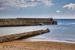 Fishing Boat Returning to St Andrews Harbour