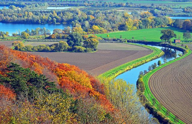 Wo der Fluss die Biege macht ...
