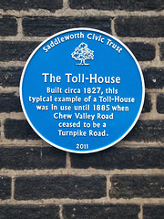 Another blue plaque