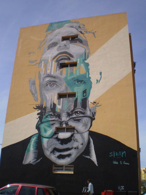 Mural by Skran.