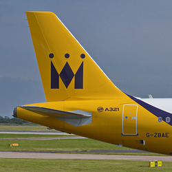 Tails of the airways. Monarch Airlines.