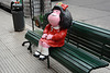 Buenos Aires, The Doll in the Street of the District of La Boca