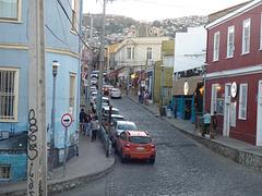 Una calle de la ciudad