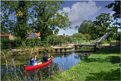 The Basingstoke Canal at Odiham