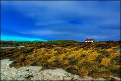 Kleines Haus am Strand