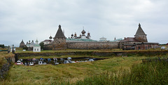 Спасо-Преображенский Соловецкий монастырь, Вид с юго-запада