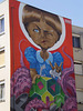 Angela Merkl's mural, by Nark.