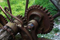 Machine agricole . Mécanique qui a fait ses preuves durant des décennies .