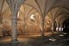 Le cellier de l'abbaye de la Guiche
