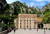 Monastery square Montserrat