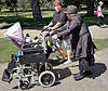 Wheels for early and late life