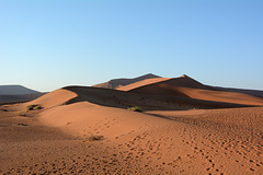 Namibia, The Dune of Big Daddy in The Sossusvlei National Park