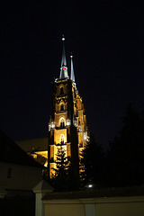 The cathedral in Wrocław