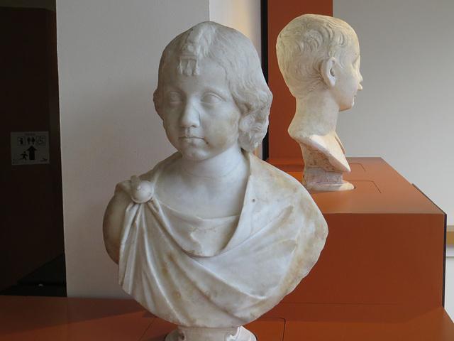 Musée de Jublains : jeune fille.