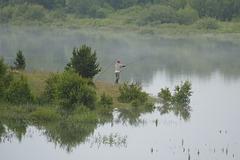 Le lac de Puyvalador...............(P.O).