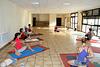 Séance de yoga au FRB