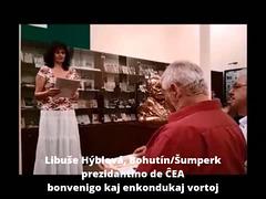 Vendreda programo de la jubilea muzea solenaĵo en Svitavy (14.9.2018)