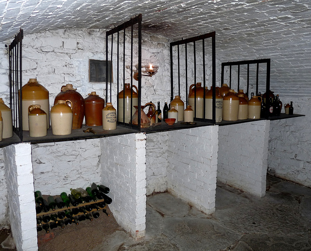 Presteigne- Judge's Lodging- Wine Cellar