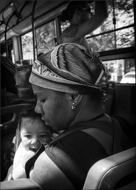 Mère et enfant.