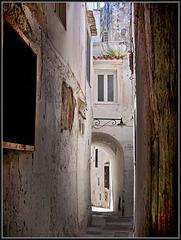 Capri : una viuzza del centro storico - (810)