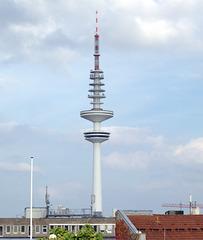 Heinrich-Hertz-Turm am 11. September 2016 (PiP)