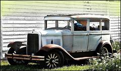 A car I saw on the prairies.