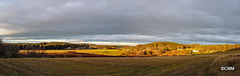Looking north over Rafford towards Forres and the Moray Firth