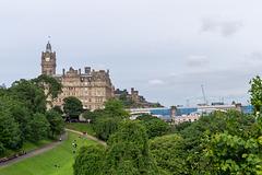 Edinburgh - Balmoral Hotel and North Bridge