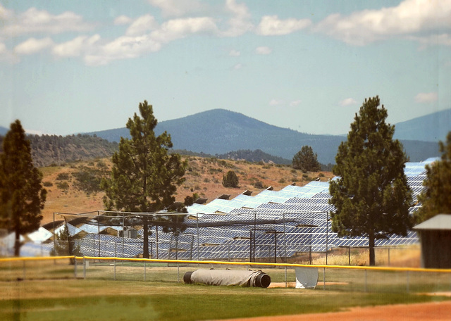 Softball and solar power