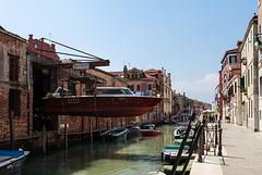 Garage in Venedig