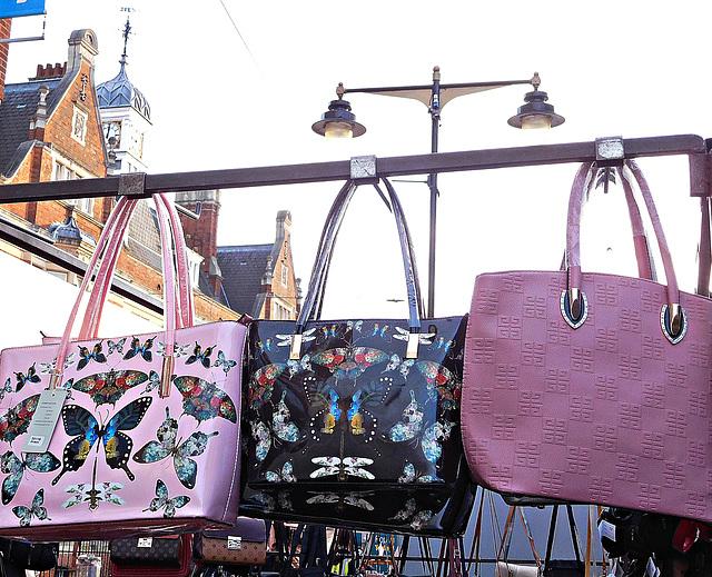Bags at Barking market